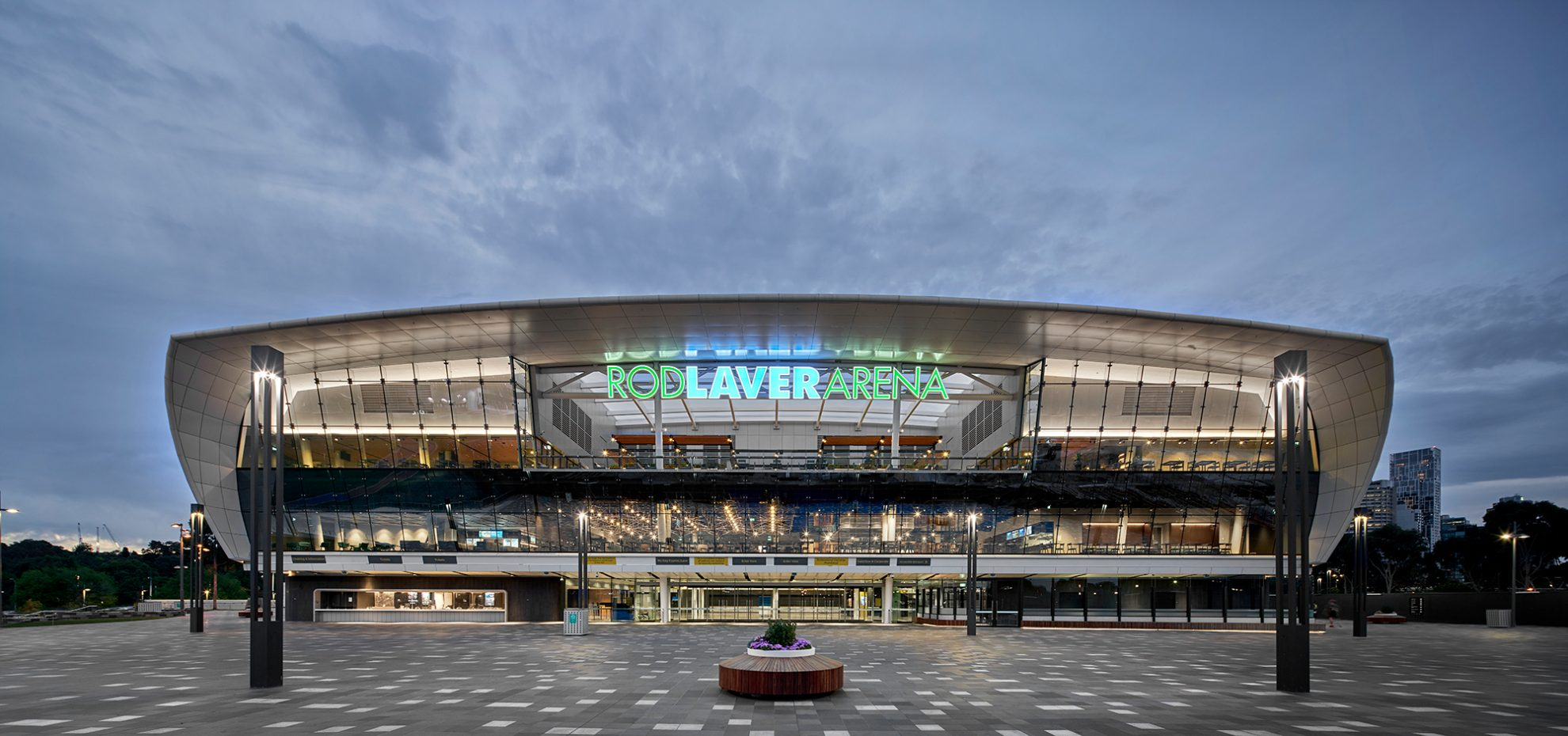 30+ years on: Rod Laver Arena Redevelopment