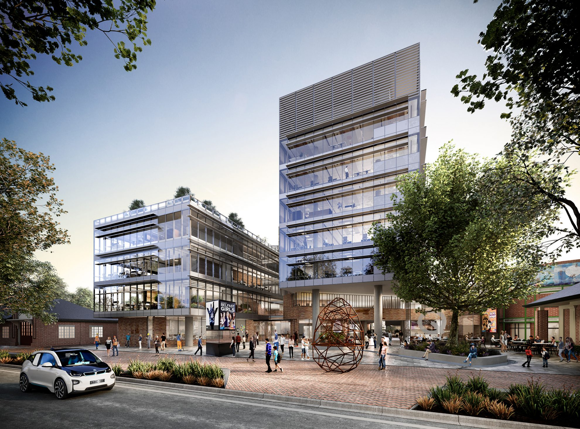 COX designs civic centre for NSW-ACT border town