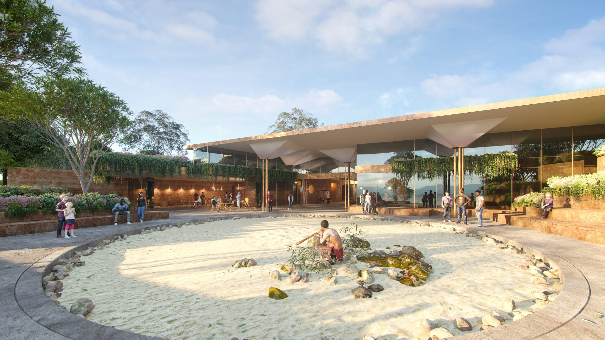 Becoming Minjerribah: Two Future Projects on North Stradbroke Island to Celebrate Traditional Owners
